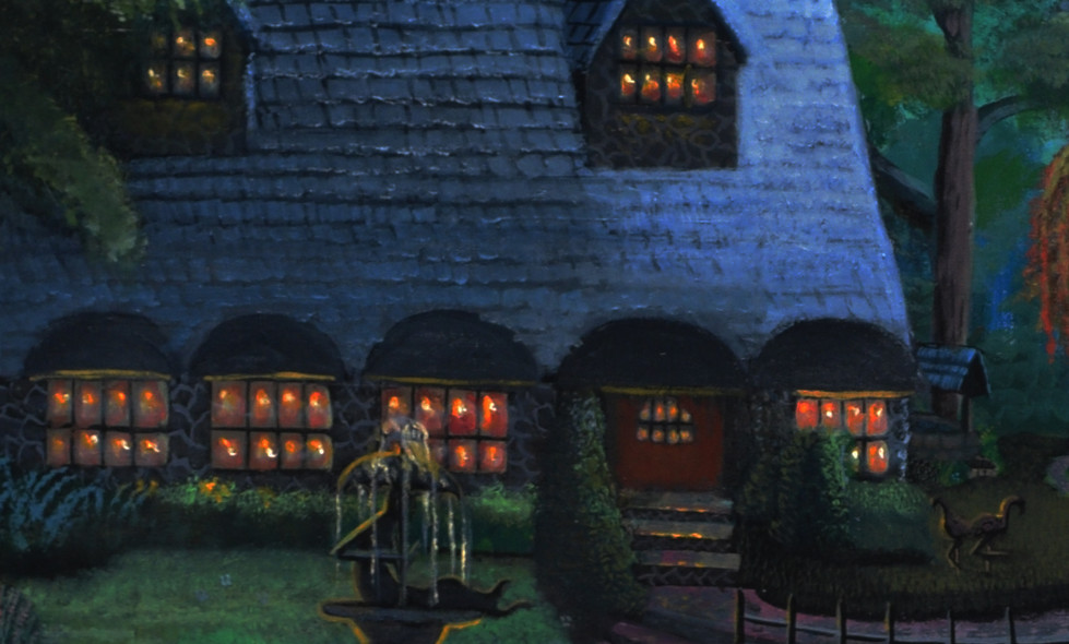Here's a close up of the Cottage's warm illuminating Windows