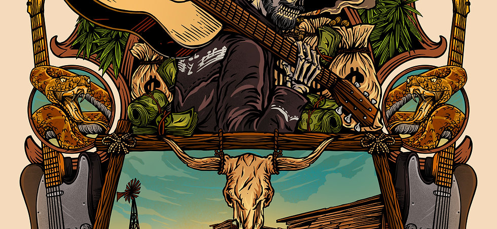 Official Eccentric Outlaw Limited Edition (10) Poster