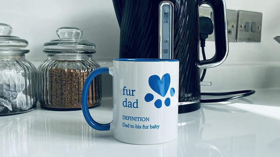 Fur Dad Mug