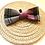 Thumbnail: Pink & Grey Check Bow Tie