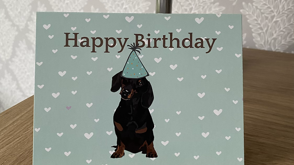 Birthday Card - small breed selection