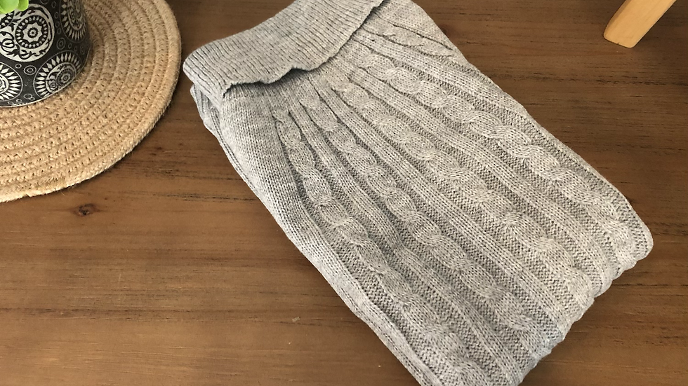 Dog Jumpers in Grey knit
