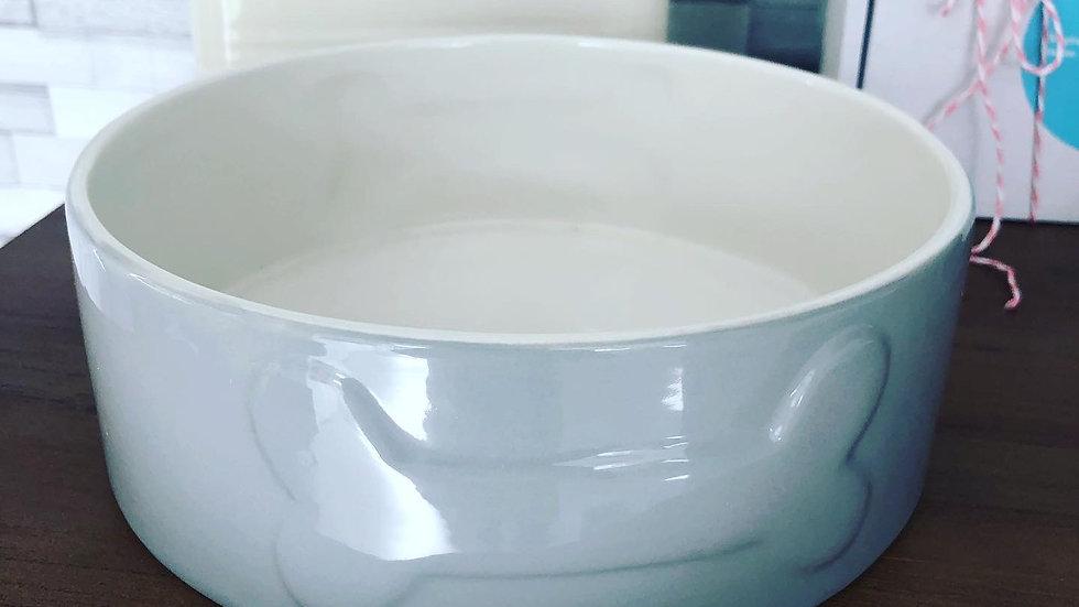 Maison & White Ceramic Dog Bowl 20cm