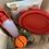 Thumbnail: Doggie Holiday Bag Large & Small/medium Bowls
