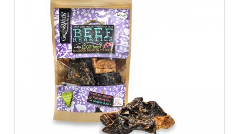 Green & Wilds Beef Hearties 140g
