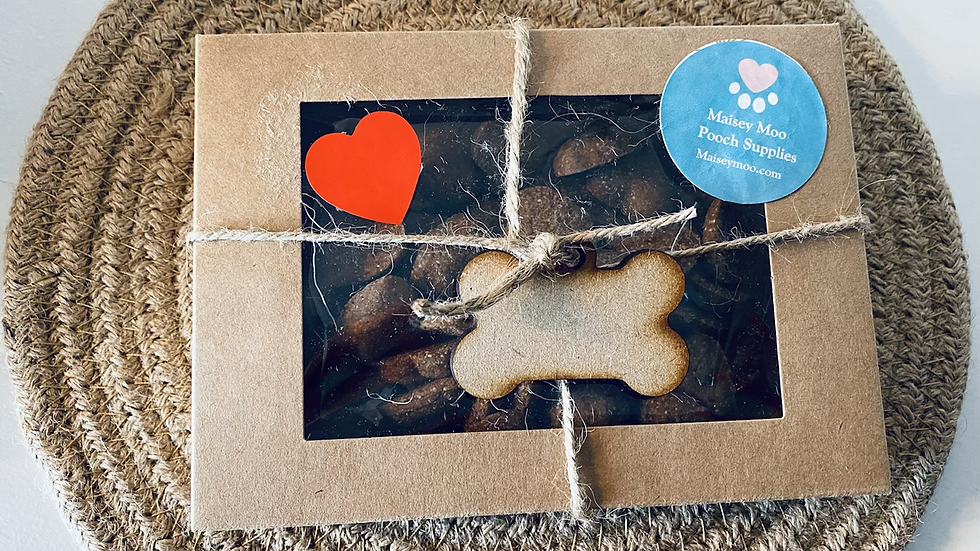 Dog Treat Gift Box -  Low Fat
