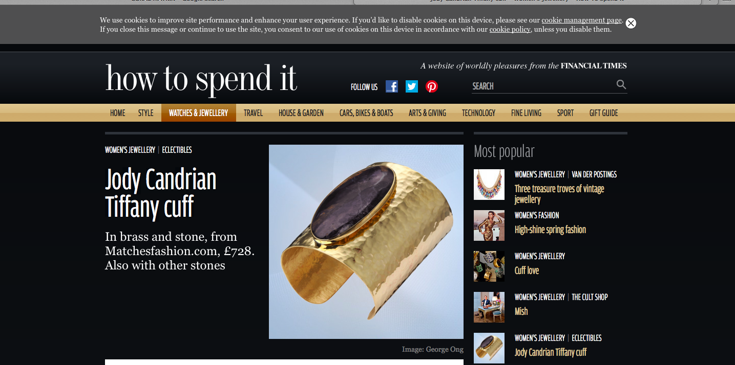 FINANCIAL TIMES-HOW TO SPEND IT