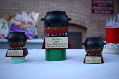 2nd Annual Green Chili Competition Trophies
