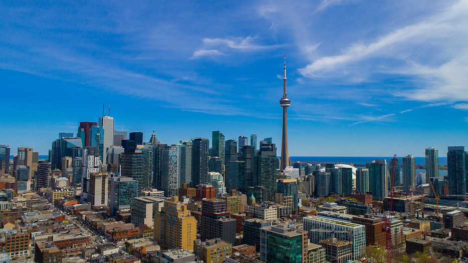 Aerial Photography -  Downtown toronot