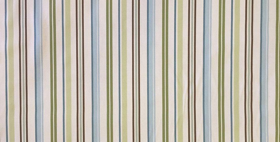 Stripe Brown, Aqua, Green
