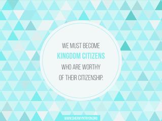Principles of Kingdom Culture