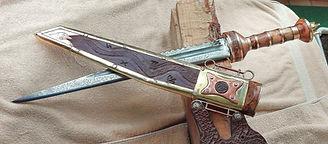 N4 Keltisch römisches Kurzschwert