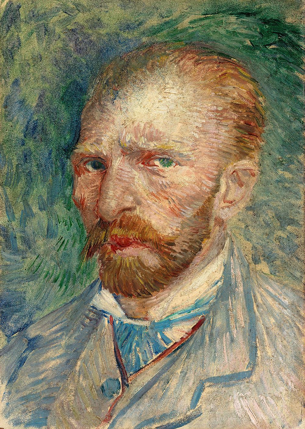Vincent van Gogh, Selvportræt, 1887. Coll. Kröller-Müller Museum, Otterlo