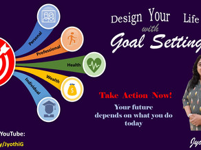 Design your Life with Goal Setting