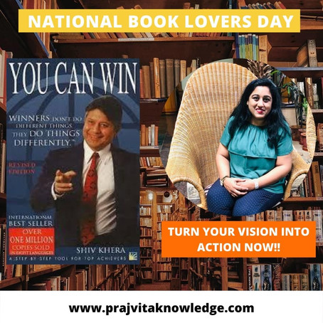 You Can Win on National Book Lovers Day