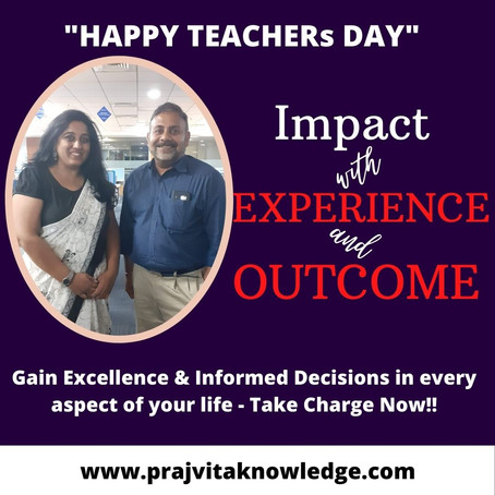 Impact with Experience & Outcome
