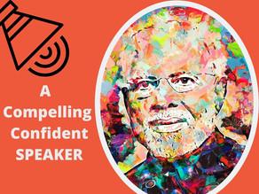 Public Speaking Skill – A compelling, confident speaker 👌