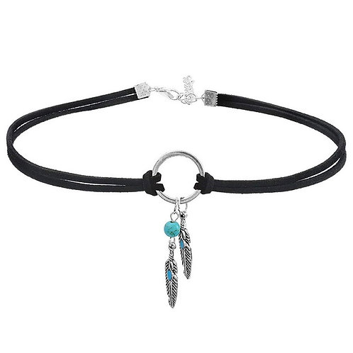 Natural Turquoise Choker