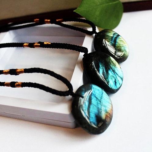 Natural Labradorite Necklace
