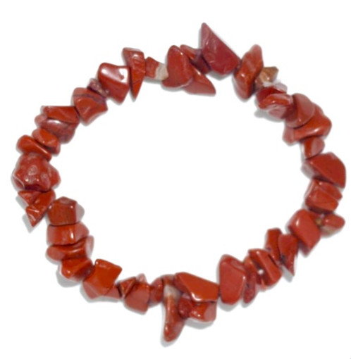 larger bracelet gem image gemstone jasper the tree chip red index