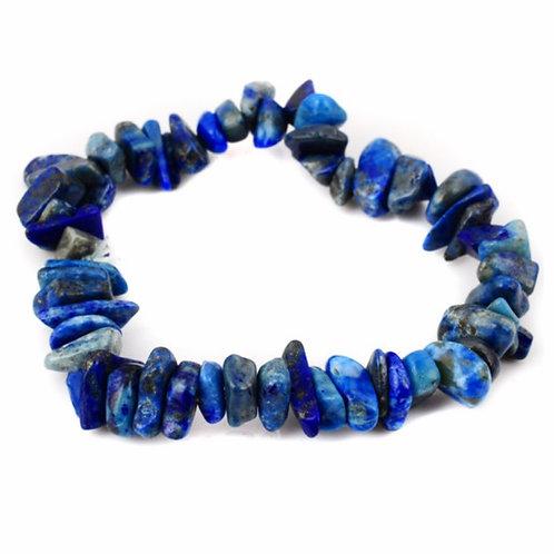 Natural Lapis Lazuli Chips Bracelet