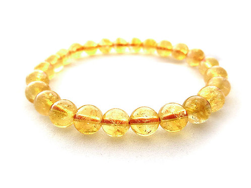 Natural Citrine Bracelet 10 mm Grade AAA