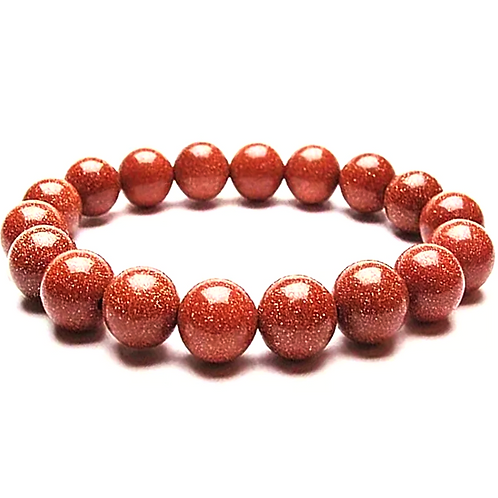 Natural Goldstone Bracelet 10 mm Grade AAA