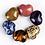 Thumbnail: Natural Lapis Lazuli Carved Heart 30 mm
