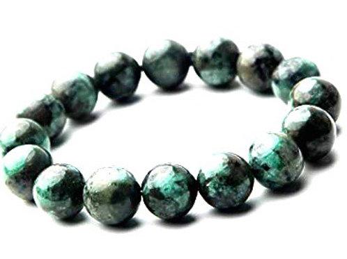 Natural Emerald Bracelet 10 mm