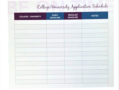 Applying to Colleges, Universities, & Scholarships is overwhelming....for students & parents!