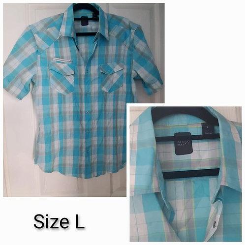 Mojo Button-Up Shirt - Size L
