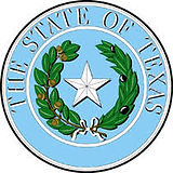 State seal of TX for Food Town with Kiosks