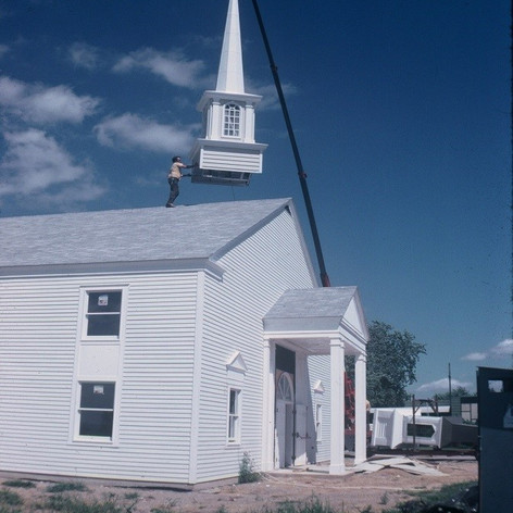 Adding the Steeple