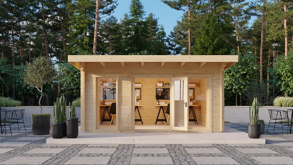 The Skyros backyard kit studio or home office - Professionally Installed or DIY in Victoria