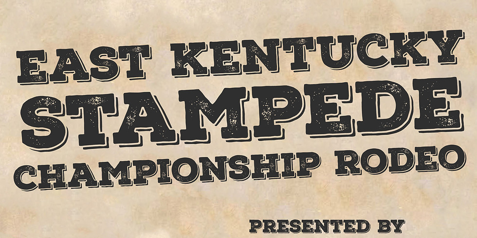 Canceled until 2022 - East Kentucky Stampede Championship Rodeo