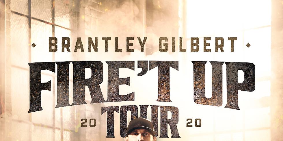 BRANTLEY GILBERT FIRE'T UP TOUR 2020