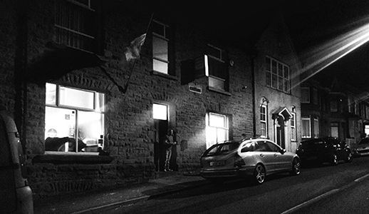 The night before the pubs closed Ferndal