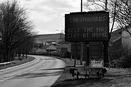 Coronavirus Sign Aberdare March 2020.jpg