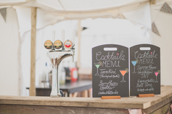 Bar for wedding