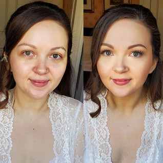 Bridal makeup to me is always fresh and