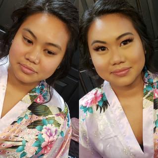Asian Bridesmaid makeup