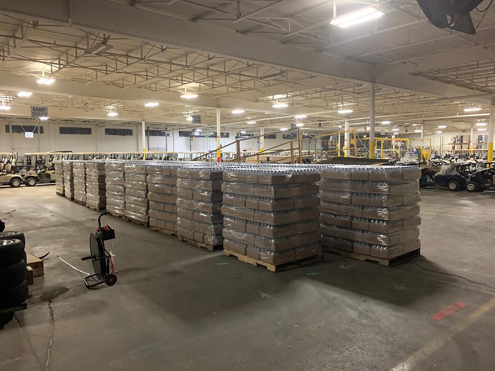 Augusta Georgia, trucking company, F&W Transportation, water donation
