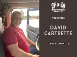 October New Hire: David Cartrette