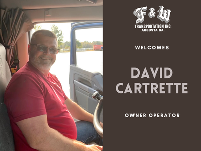 October New Hire: David Cartrette