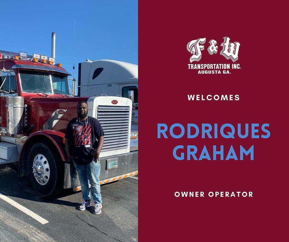 augusta ga trucking company new hire, owner operator