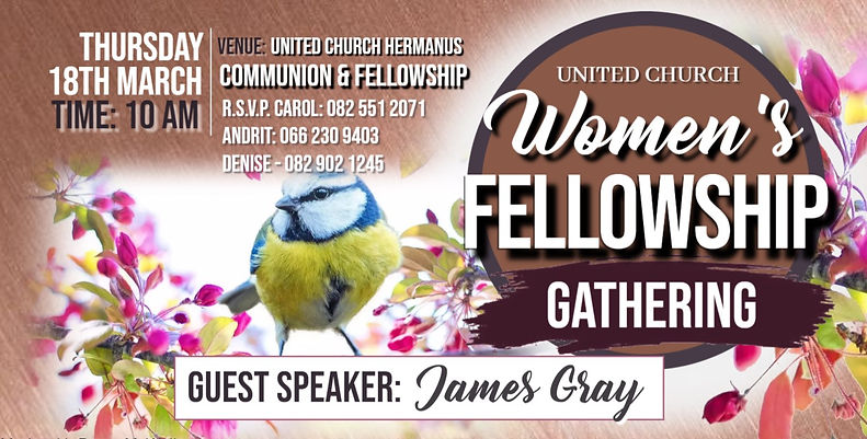 Womne's fellowship gathering March 2021.