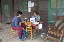 Gathering stories at LEAF