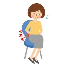 座っていると痛い腰にお悩みの方は 広島市西区の よこがわソフト整体院