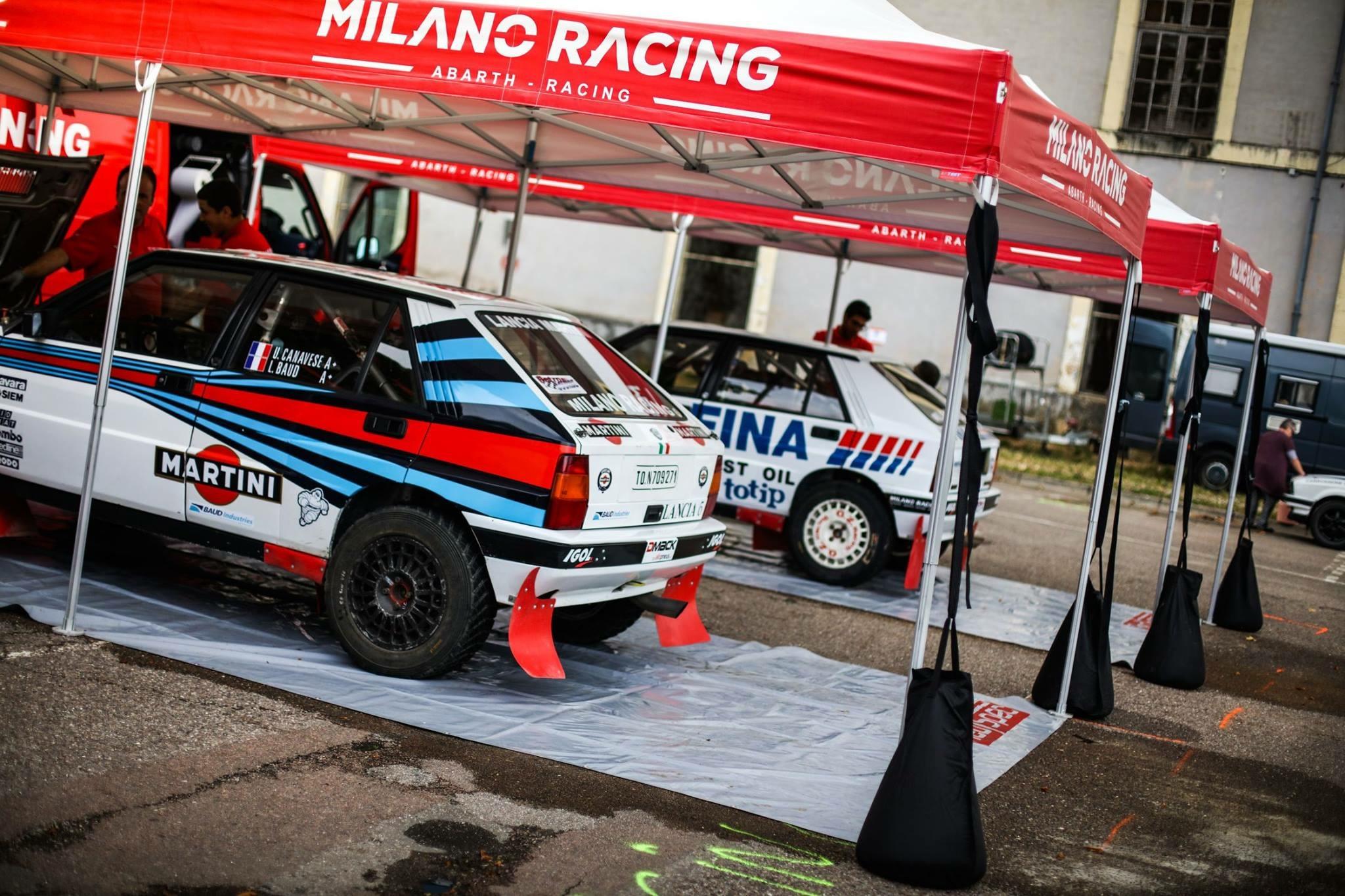 Les historiques Lancia Delta