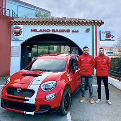 Vincent Dubert et Alexandre Coria